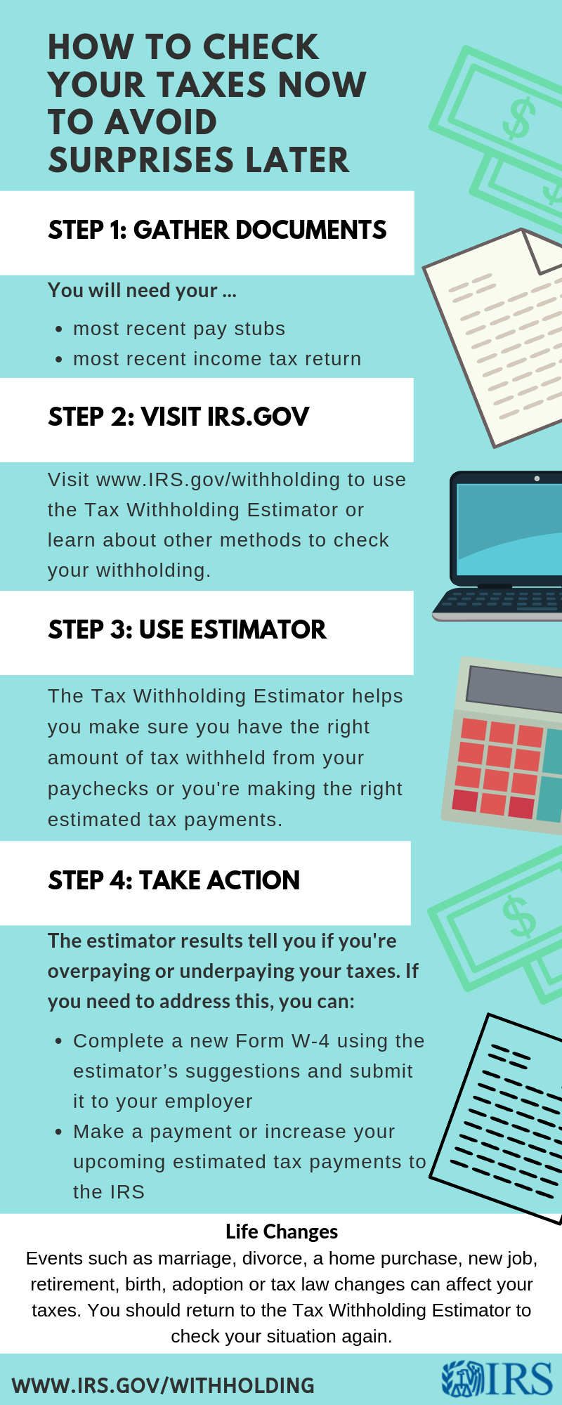 Improved Tax Withholding Estimator Now Available PG Co