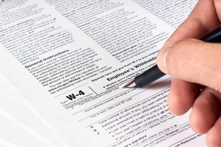 W4 2021 Employee Tax Withholding Form